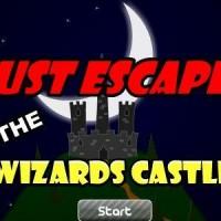 Gioco di fuga scappare dal castello del mago
