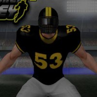 Gioco di football americano linebacker