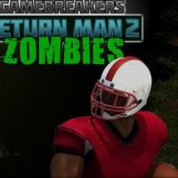 Gioco di Football americano ritorno degli Zombie