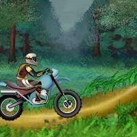 Gioco di motocross nuclear bike di equilibrio
