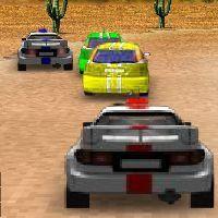 Gioco della corsa del rally in 3D