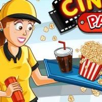 Gioco di gestione del ristorante del cinema