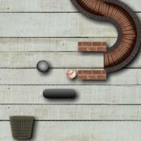 Gioco di logica di creare percorsi con la pallina e oggetti