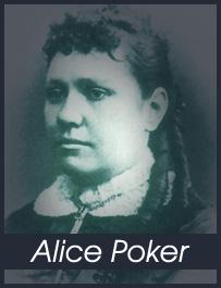 Alice Poker, giocatrice di poker famosa in tutto il mondo.